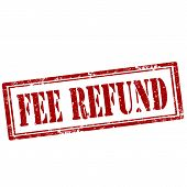 Fee Refund-stamp