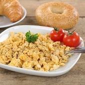 Scrambled Eggs For Breakfast