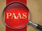 PAAS Inscription Through a Magnifying Glass.