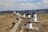 Traditional Spanish Windmills