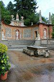 Hellbrunn Palace - Trick Fountains