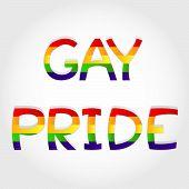 Gay Pride Phrase