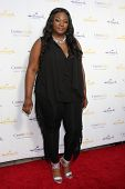 LOS ANGELES - JUL 8:  Candice Glover at the Crown Media Networks July 2014 TCA Party at the Private