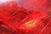 Red Traffic Light Background