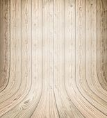 Background of old natural wooden dark empty room with messy and grungy crack beech, oak tree floor t