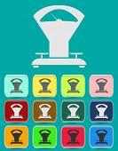 Scales balance - Simple vector icon