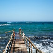 Jetty on the sea