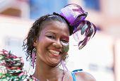 Victoria, Seychelles - April 26, 2014: Happy Creole Women At The Carnival International De Victoria