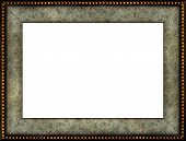 Antique Rustic Marble Picture Frame