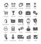 picture of time study  - Icons for web and mobile applications on white background - JPG