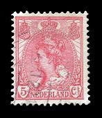 Queen Wilhelmina stamp