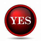 pic of yes  - Yes icon - JPG