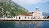 Church Our Lady Of The Rocks,montenegro.