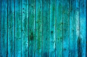 wood texture. background blue old panels