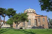 Hagia Irene Church In The Park Of Topkapi Palace In Istanbul