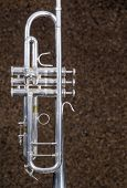 Detail Take Of A Trumpet