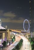 Singapore traffic and Singapore Flyer
