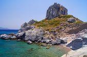 Kefalos rocky beach