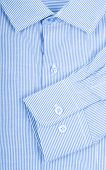 picture of button down shirt  - button down shirt close up studio shot - JPG