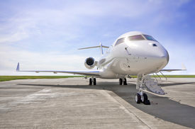 pic of aeroplan  - Luxury Private Jet Airplane for business flights  - JPG