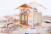 House built with European money