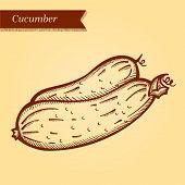Retro cucumber