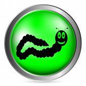 Earthworm Button