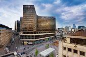Place de la Monnaie in Brussels, Belgium