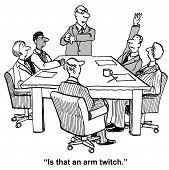 Free to Speak in Business Meeting