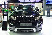 Nonthaburi - December 1: Range Rover Evoque Sd4 Car Display At Thailand International Motor Expo On
