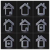Set Of Vector Icons. House.