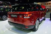 Nonthaburi - December 1: Range Rover Sport Car Display At Thailand International Motor Expo On Decem