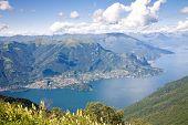 Lake Como Landscape, Italy