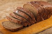 Sliced Loaf Rye Bread