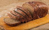 Sliced Loaf Brown Bread