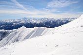 White Ski Slope