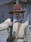 Colonist at Plimoth Plantation