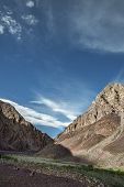 Beautiful View Of Majestic Rocky Mountains