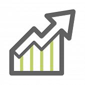 Business Chart Web Icon