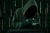 Hacker Looking For Credit Card Code