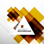 Square shape abstract layouts, business template, colorful blocks