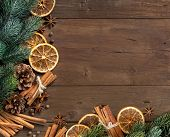 Christmas Composition With Spices