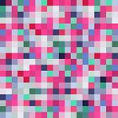 seamless pattern background, design, modern, pink, square