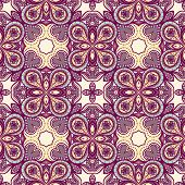 Purple And Yellow Pattern