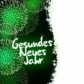 Gesundes Neues Jahr German Happy New Year