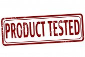 Product Tested Stamp