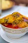 Moroccan Chicken Food