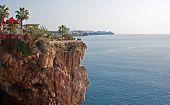 View Of Antalya Turkey Coastline