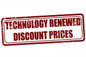 Technology Renewed Discount Prices Stamp