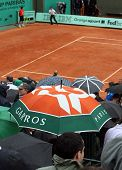 Rain At Roland Garros 2010